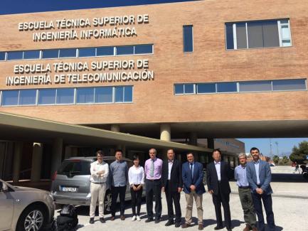 马拉加大学_我校代表团赴西班牙马拉加大学进行课程研修活动